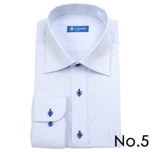 ストレッチシャツ メンズ ビジネス ノーアイロン 長袖 ストレッチ ワイシャツ Yシャツ 形態安定 形状記憶 ボタンダウン レギュラー|tresta|15