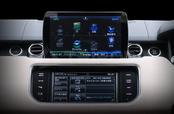 【RRS-F1D-CL】14y〜16y Land Rover / RANGE ROVER SPORT Panasonic CN-F1D専用取付けキット
