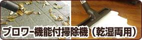 ブロワー機能付掃除機(乾湿両用)