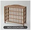 Rocking Table(ロッキングテーブル) 天然木エアコン室外機カバー ダークブラウン WDC-0004-DBR WDC-0004-DBR [カラー:ダークブラウン]