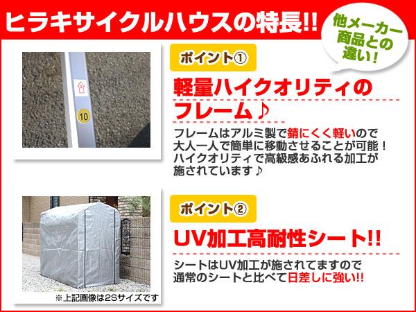 ヒラキサイクルハウスの特長!!