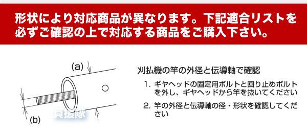 ギヤケースの適合確認方法