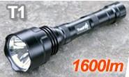 強力1600ルーメン LEDフラッシュライト TR-T1 Trustfire 正規品 トラストファイア