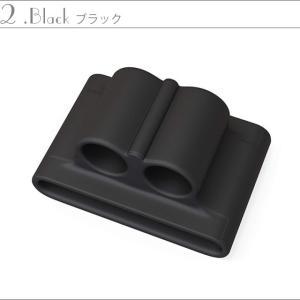 アップルウォッチ イヤホン シリコンホルダー Apple Watch AirPods Bluetooth ワイヤレスイヤホン Apple アップル|tsaden|07
