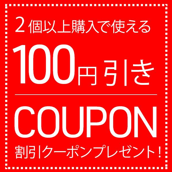 2個以上のご購入で100円引きクーポン