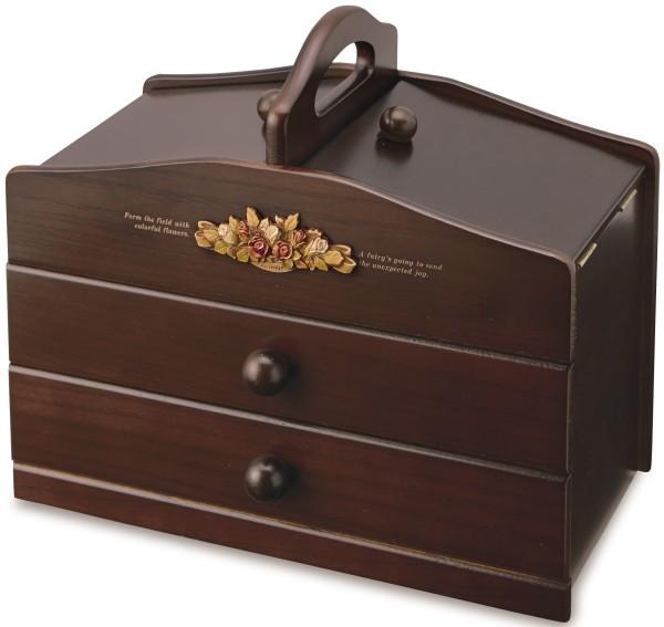 アンティーク調 裁縫箱