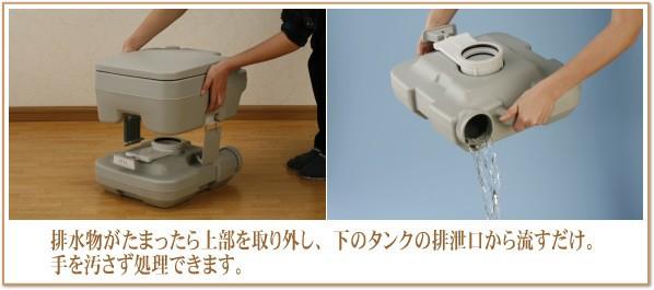 手を汚さず排泄物を処理できます。