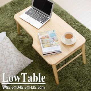 折れ脚ローテーブル(ナチュラル)