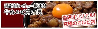 牛カルビ丼の具