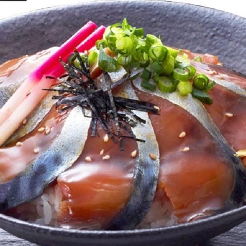 八戸銀サバ トロづけ丼