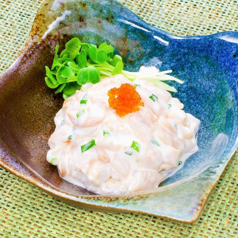 つぶ切り落とし 海鮮サラダ