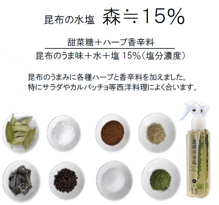 昆布の水塩【松前屋】