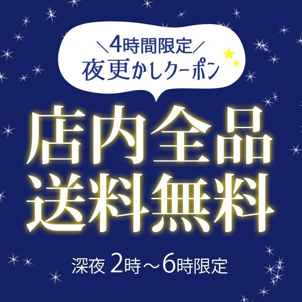 ≪4時間限定≫☆店内全品送料無料☆夜更かしクーポン