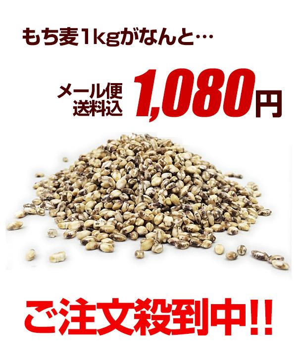 もち麦1500円送料無料