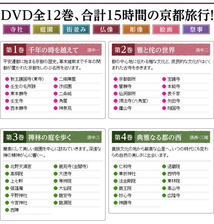 京都逍遙 DVD全12巻