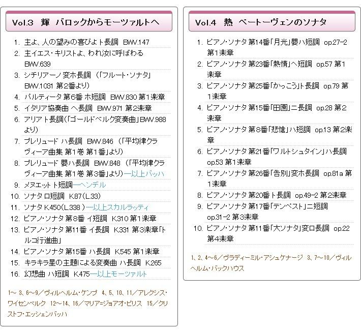 ピアノフォルテ CD全10巻