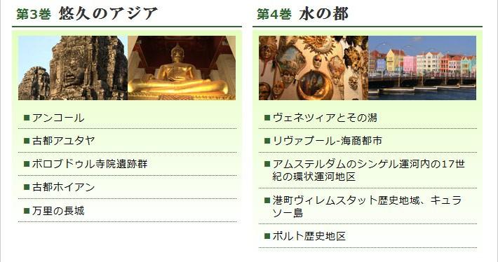 世界遺産 DVD / ブルーレイディスク 全10巻