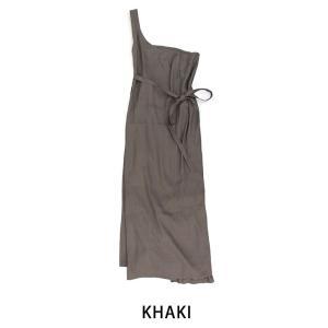 kha:ki カーキ レディース リネンフレンチワンピース(20HOP86)(2020SS)|u-oak|13