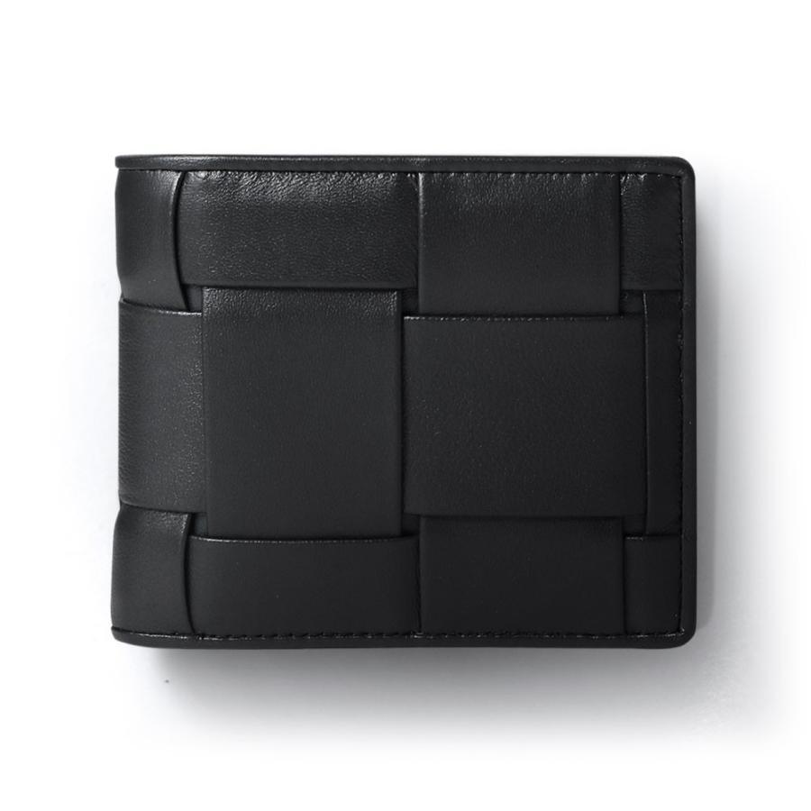二つ折り財布 財布 本革  ユニセックス ギオネ イントレチャート ウォレット 編み込み ラムレザー メンズ レディース|u-stream|24