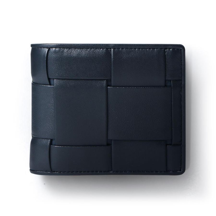 二つ折り財布 財布 本革  ユニセックス ギオネ イントレチャート ウォレット 編み込み ラムレザー メンズ レディース|u-stream|25