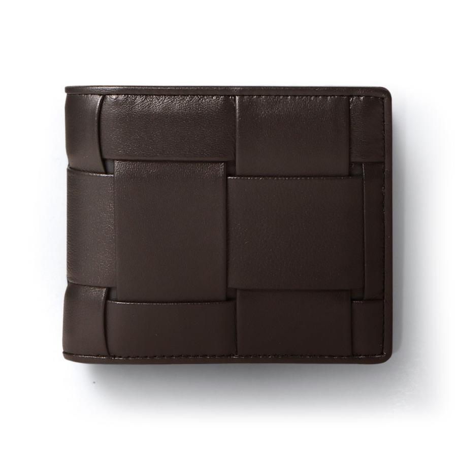 二つ折り財布 財布 本革  ユニセックス ギオネ イントレチャート ウォレット 編み込み ラムレザー メンズ レディース|u-stream|26