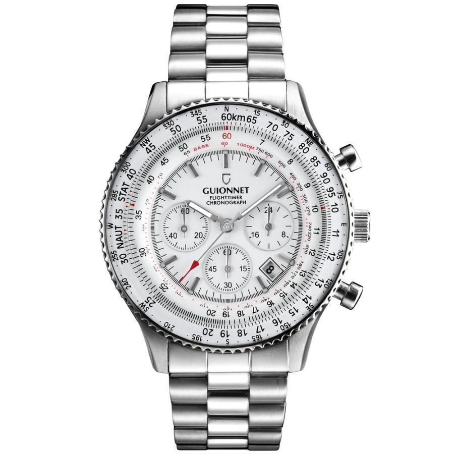 腕時計 メンズ おしゃれ アナログ ウォッチ パイロット クロノグラフ ビジネス 革 メンズ腕時計 フライトタイマー|u-stream|21