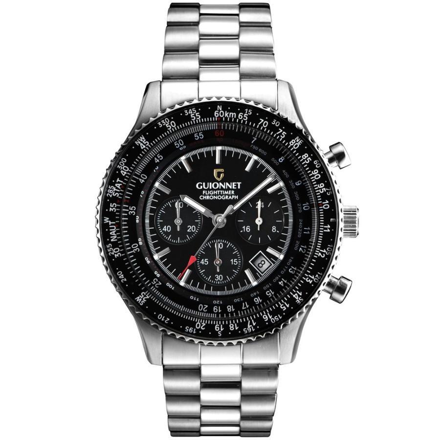 腕時計 メンズ おしゃれ アナログ ウォッチ パイロット クロノグラフ ビジネス 革 メンズ腕時計 フライトタイマー|u-stream|22
