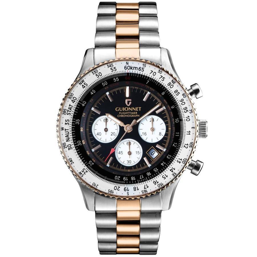 腕時計 メンズ おしゃれ アナログ ウォッチ パイロット クロノグラフ ビジネス 革 メンズ腕時計 フライトタイマー|u-stream|25
