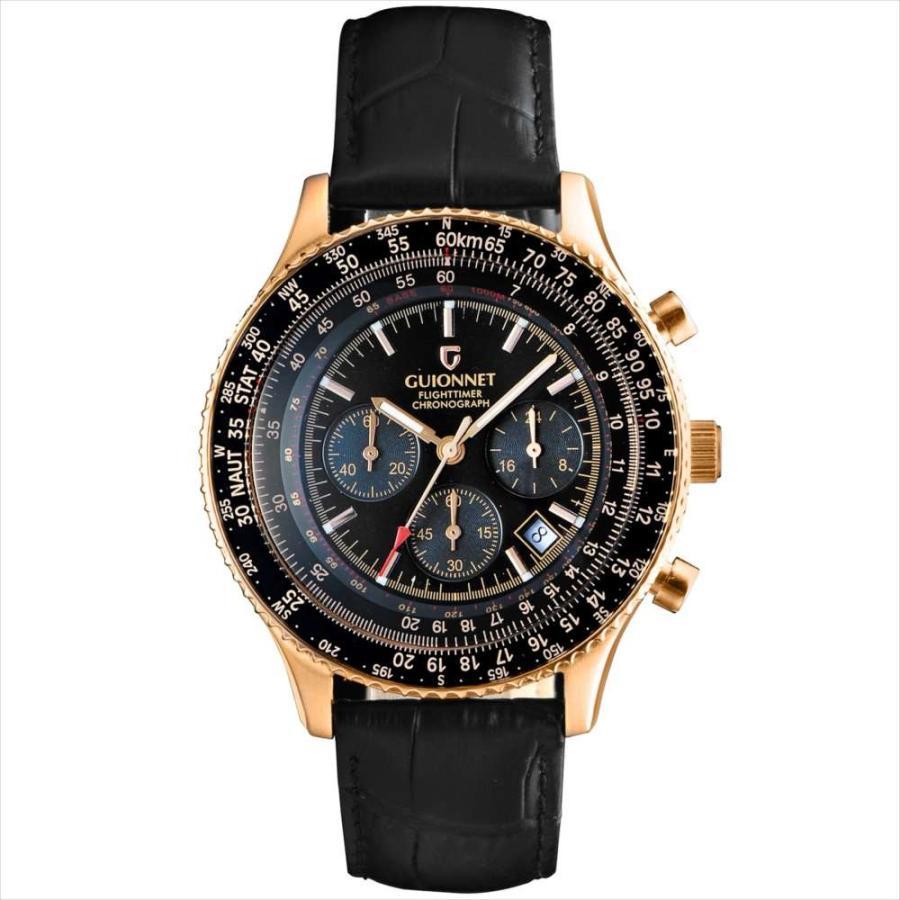 腕時計 メンズ おしゃれ アナログ ウォッチ パイロット クロノグラフ ビジネス 革 メンズ腕時計 フライトタイマー|u-stream|26
