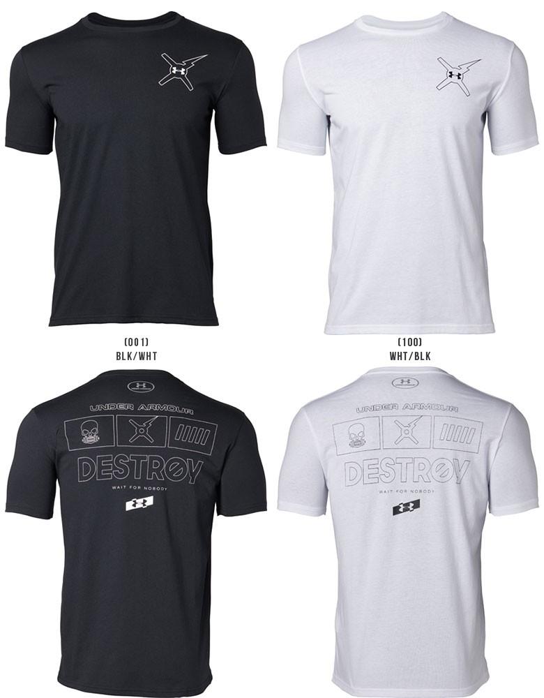バックロゴTシャツ<DESTROY>〔1329601〕