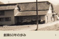 岡坂商店 創業60年のあゆみ