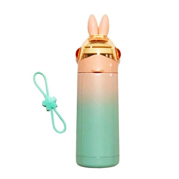 水筒 子供 保温 保冷 魔法瓶 350ml うさ耳がかわいい うさみみ ステンレスボトル |ufo-japan|12