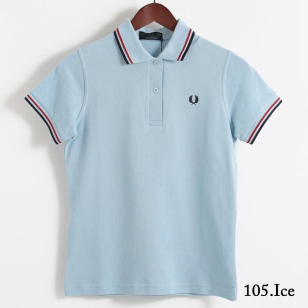 フレッドペリー Fred Perry ポロシャツ 9色 ツインティップ プレーン 英国製 フレッドペリー レディース|ukclozest|11