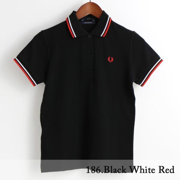 フレッドペリー Fred Perry ポロシャツ 9色 ツインティップ プレーン 英国製 フレッドペリー レディース|ukclozest|14