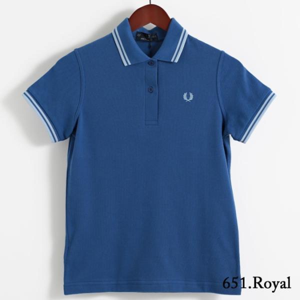フレッドペリー Fred Perry ポロシャツ 9色 ツインティップ プレーン 英国製 フレッドペリー レディース|ukclozest|17