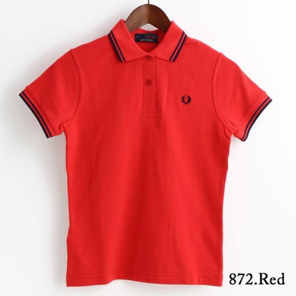 フレッドペリー Fred Perry ポロシャツ 9色 ツインティップ プレーン 英国製 フレッドペリー レディース|ukclozest|18