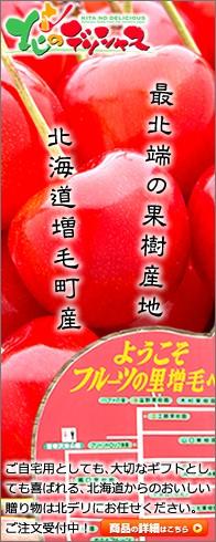 北海道 増毛町産 さくらんぼ -  北のデリシャス