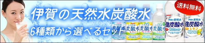 サンガリア伊賀の天然水炭酸水選べるセット