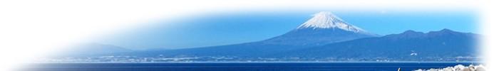 伊豆から見た富士山