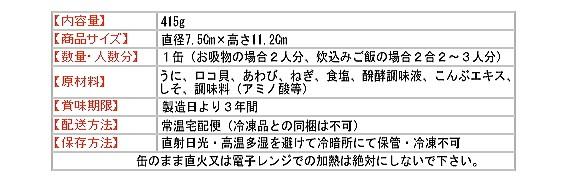 NHK鶴瓶の家族に乾杯で放送されたいちご煮ハーモニー成分表