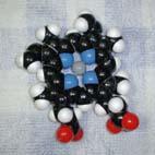 ヘム分子模型