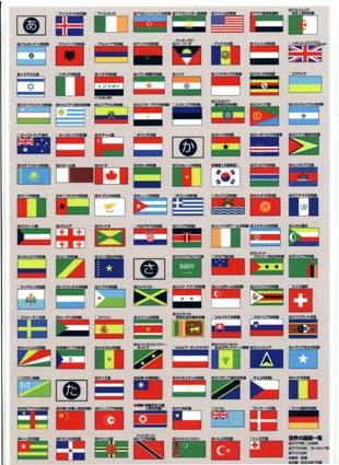 世界の国旗グッズ