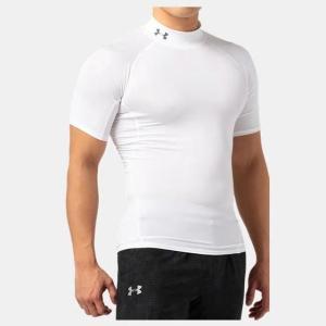 ネコポス アンダーアーマー メンズ インナー シャツ 半袖 モックネック UA ヒートギア アーマー コンプレッション SSモック ゴルフ トレーニン underarmour-heat 09