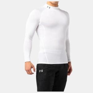ネコポス アンダーアーマー メンズ インナー シャツ 長袖 モックネック UA ヒートギア アーマー コンプレッションLS  ゴルフ トレーニング マ|underarmour-heat|09