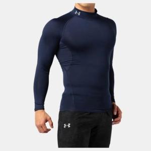 ネコポス アンダーアーマー メンズ インナー シャツ 長袖 モックネック UA ヒートギア アーマー コンプレッションLS  ゴルフ トレーニング マ|underarmour-heat|10