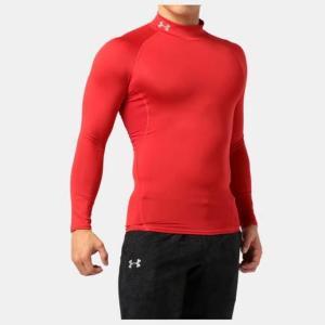 ネコポス アンダーアーマー メンズ インナー シャツ 長袖 モックネック UA ヒートギア アーマー コンプレッションLS  ゴルフ トレーニング マ|underarmour-heat|11