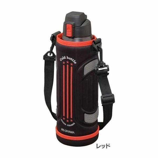 水筒 1.5リットル 子供 直飲み 1.5L マグボトル おしゃれ 保冷 軽量 軽い 遠足 運動会 子供用 ダイレクトボトル DB-1500 全3色 アイリスオーヤマ|unidy-y|18