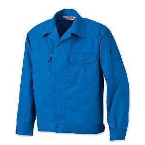 MD910h-防炎ハイブリッドジャンパーのブルー色