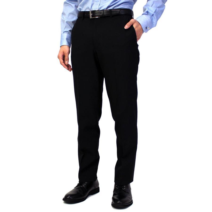 スラックス メンズ ノータック スリム 無地 ストレッチ 裾上げ済み 洗える 送料無料 SALE|united-japan|12