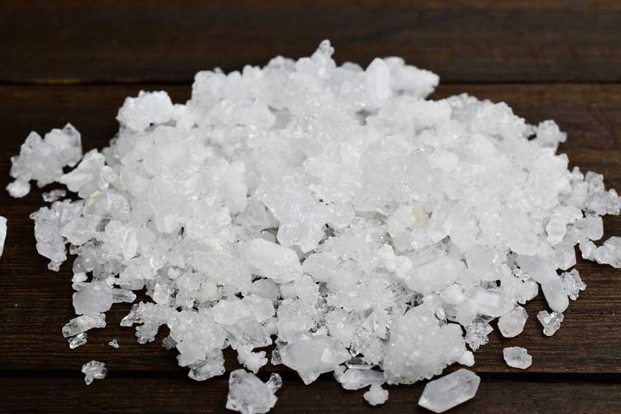 モロッコ産 両剣水晶 さざれ 結晶 原石 天然石 パワーストーン